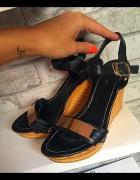 Koturny sandały jak Guess blaszka r37...