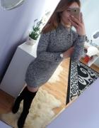 Sukienka z półgolfem H&M zamki zip...