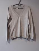 Idealny szary sweterek Camaieu M...