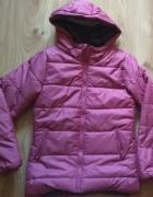 Nowa rózowa kurtka dziewczęca 164