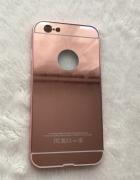 Iphone 6s etui case plastikowe lustrzane rose gold