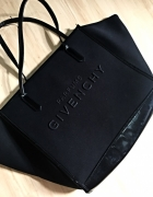 Givenchy torebka shopper czarna