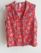 bluzeczka c&a w floral vintage