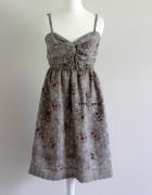NOWA włoska sukienka na ramiączkach S