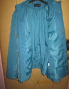 Niebieska damska kurtka zimowa w roz 48 50