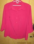 Rewelacyjna klasyczna różowa koszula r 50 52