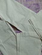 Spodnie damskie białe 38