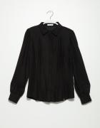 Koszula simple jedwabna czarna