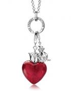 Big Charms z kolekcji YES serce w koronie i żaba...