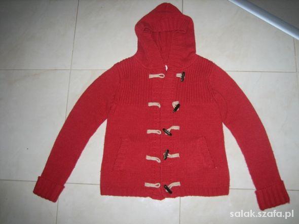 NEXT czerwony kardigan 164