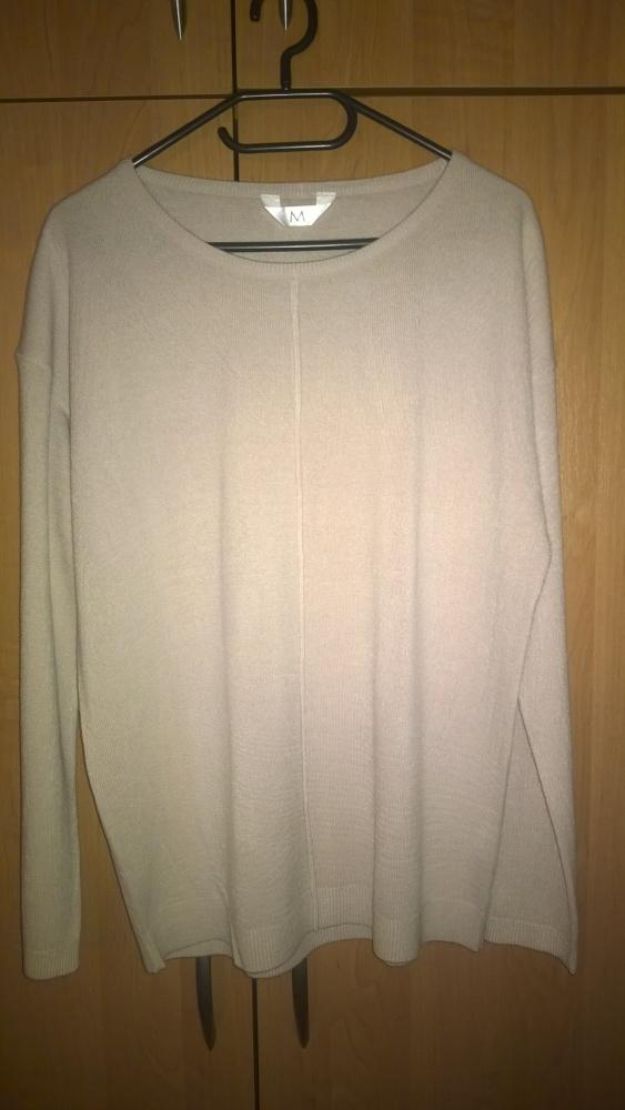 Swetry Sweter pudrowy róż rozmiar 38