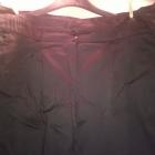 Czarne materiałowe spodnie rozmiar 46