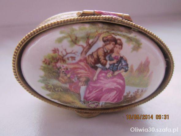 Puzderko z porcelanką