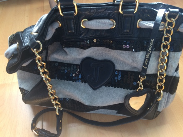 Duża torebka Juicy Couture Shopper bag...