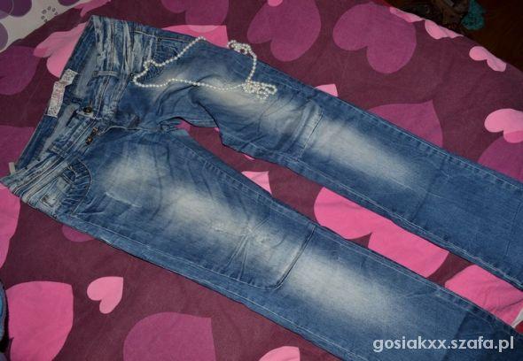 spodnie wycierane M