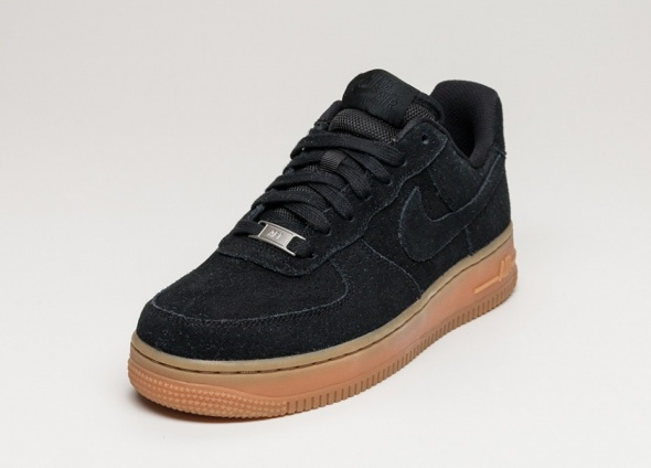 Nike air Force 1 07 Suede Black DAMSKIE 365...
