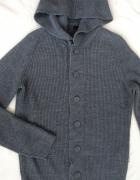 Tom Tailor śliczny sweter M szary