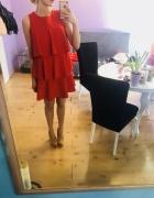 Sukienka czerwona choinka...