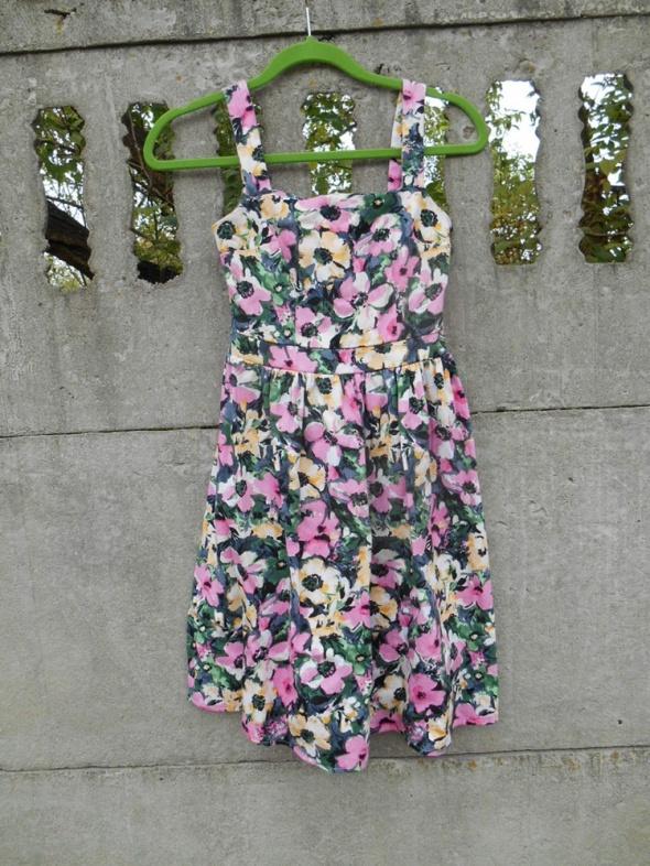 sukienka 140 146 Atmosphere 34 xs w kwiaty na 10 11 lat...