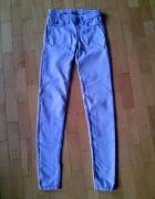 spodnie rurki tregginsy jasny jeans 34XS pull&bear...