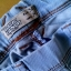 spodnie rurki tregginsy jasny jeans 34XS pull&bear