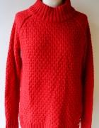 Sweter Golf Czerwony Lindex L 40 Oversize Holly&Whyte...
