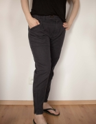 Spodnie luksusowej marki See by Chloe grafitowe...