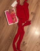 Bodystocking czerwony...