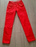 Czerwone spodnie roz 36...