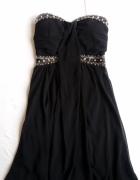Czarna elegancka sukienka
