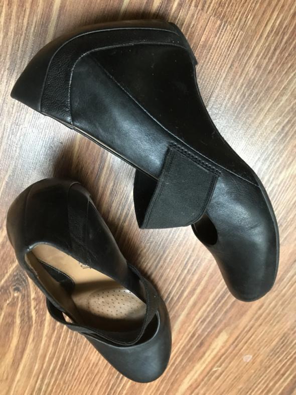 Clarks oryg buty ze skóry naturalnej 375 24cm...