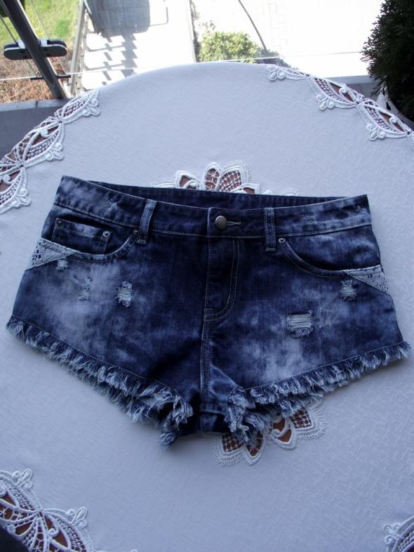 f25a98f0 Asos Petite krótkie spodenki szorty jeansowe damskie 38 M w Spodenki ...