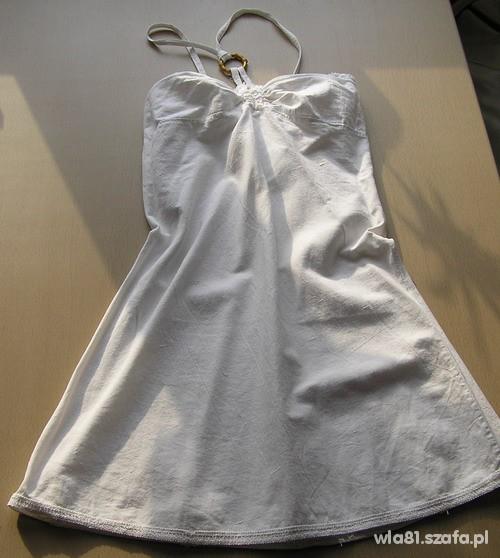sukienka letnia lniana