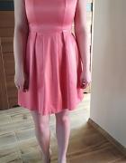 Morelowa sukienka 36
