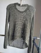 sweter oversize zielony r S M L