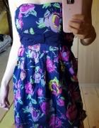 Sukienka New Yorker kwiatowa M na lato bombka...