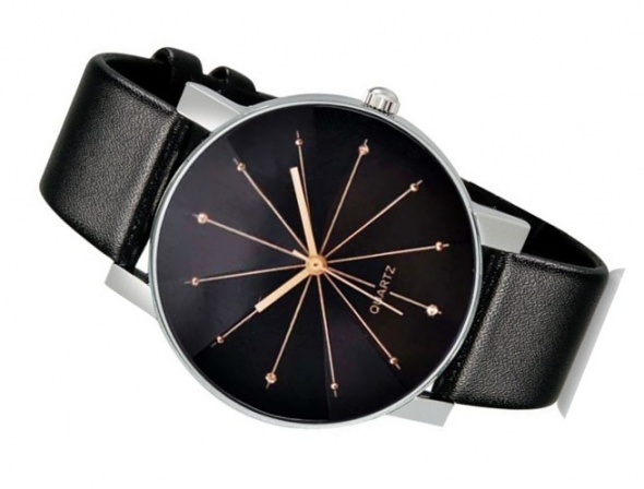 Zegarek Damski srebrny cyrkonie GLAMOUR