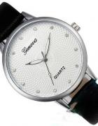 Elegancki damsi zegarek cyrkonie