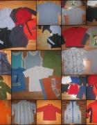 31 szt PAKA zestaw ubrań dla chłopca wiek 6 7 lat