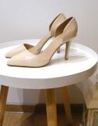 Szpilki nude Lu Boo 37 minimalizm