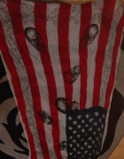 Chusta flaga ameryki...