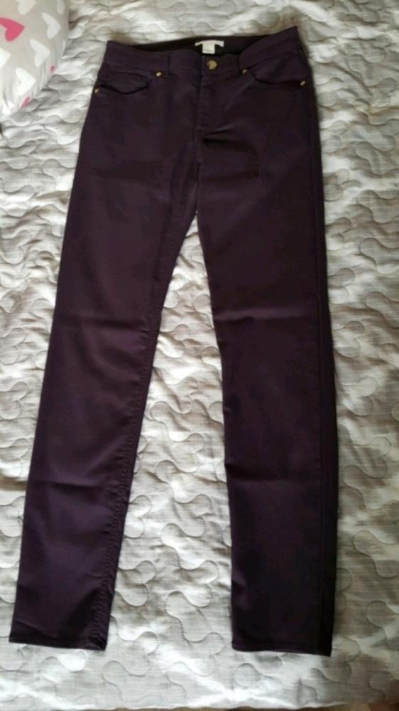 Spodnie h&m 36 modny kolor
