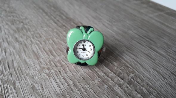 Zegarki Zegarek motyl na palec