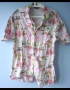 George męska koszula tropical wzory print...