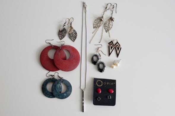 Zestaw biżuterii Asos i inne...