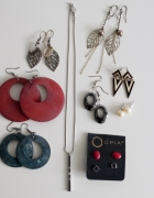 Zestaw biżuterii Asos i inne