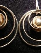 Kolczyki różne srebrne i złote
