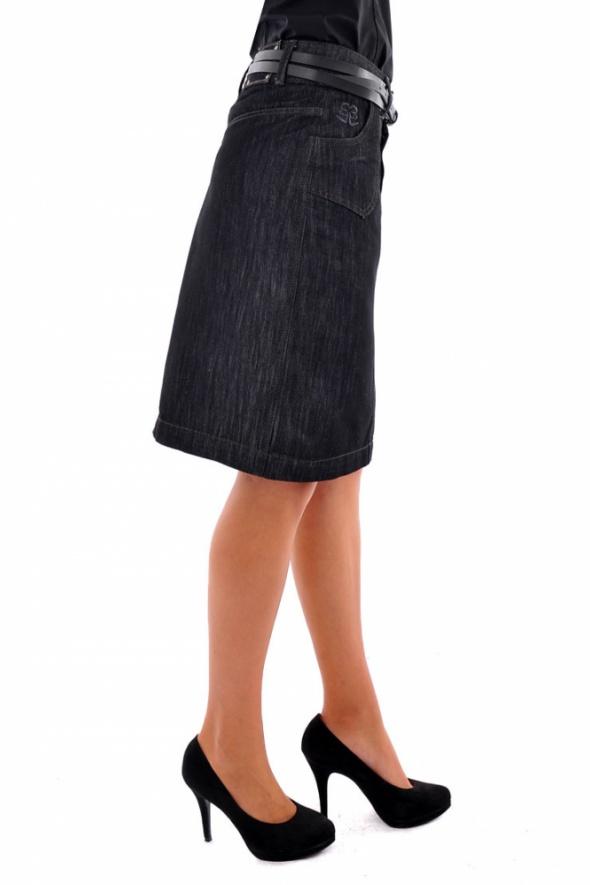 Spódnice Granatowa spódnica Kon&Mon 36 S