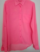 Neonowa koszula mgiełka Terranova S36