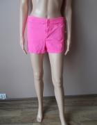 Denim CO Szorty Neonowe Różowe 42 XL